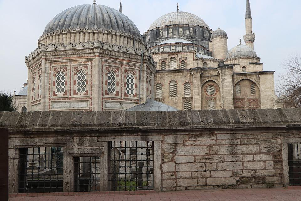 Cami, Shrine, Tomb, Old, On, Istanbul