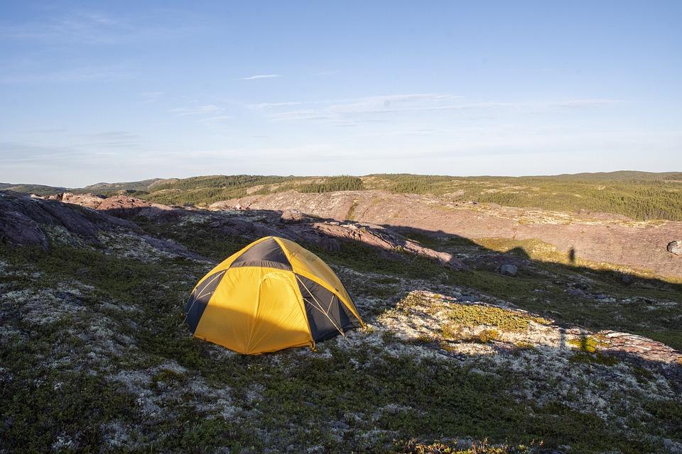 Tent, Camp, Camping, Campsite, Equipment, Sunset