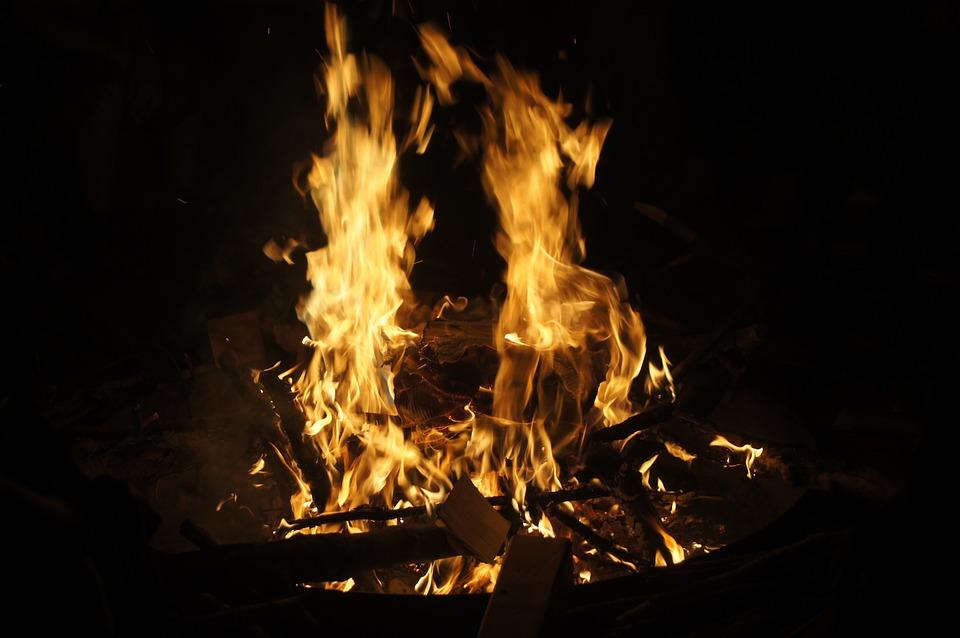 Fire, Camp, Camp Fire