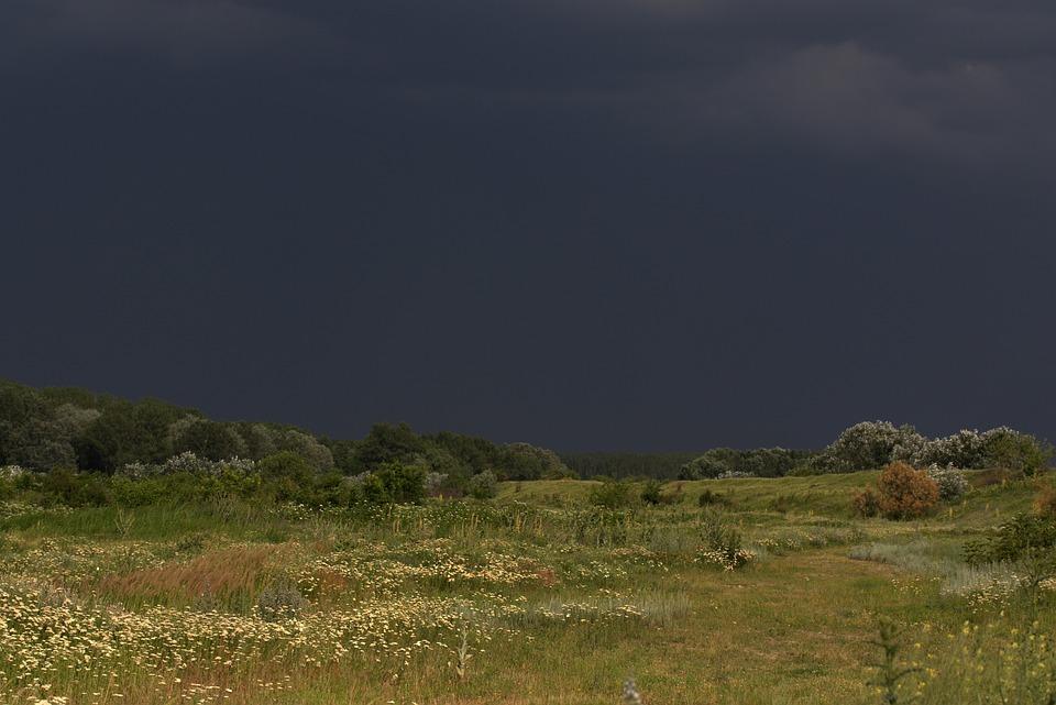 Landscape, Cloud, Storm, Nature, Camp, Dramatically