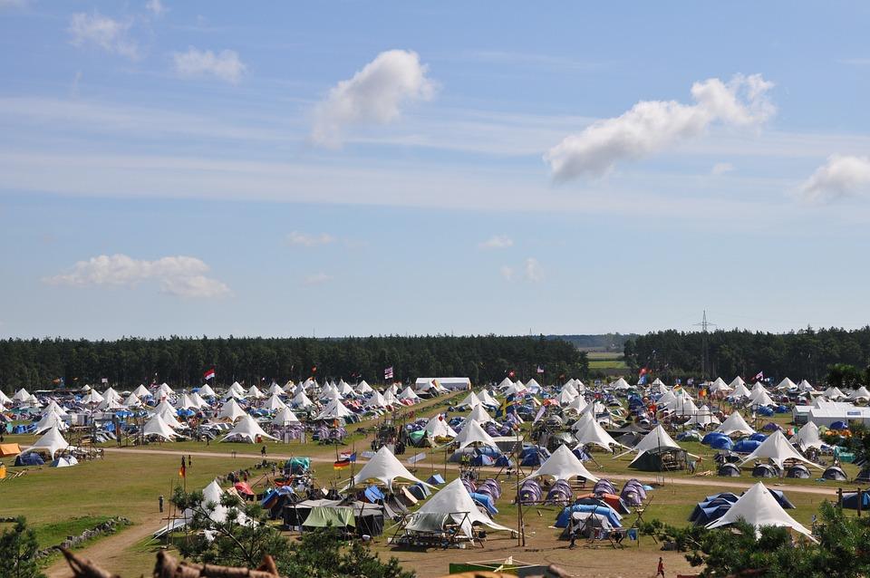 World Jamboree, Camp, Path Finder, Nature, Camping