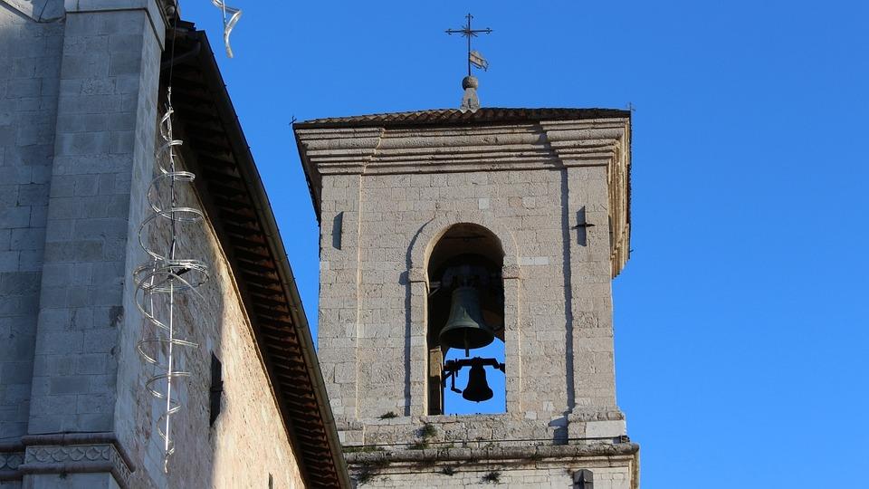 Norcia, San Benedetto, Campanile