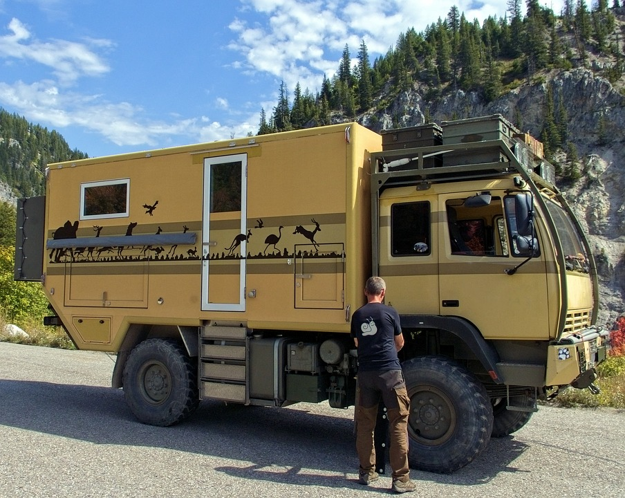 Offroad Camping Vehicle, Camper, Expedition, Motorhome