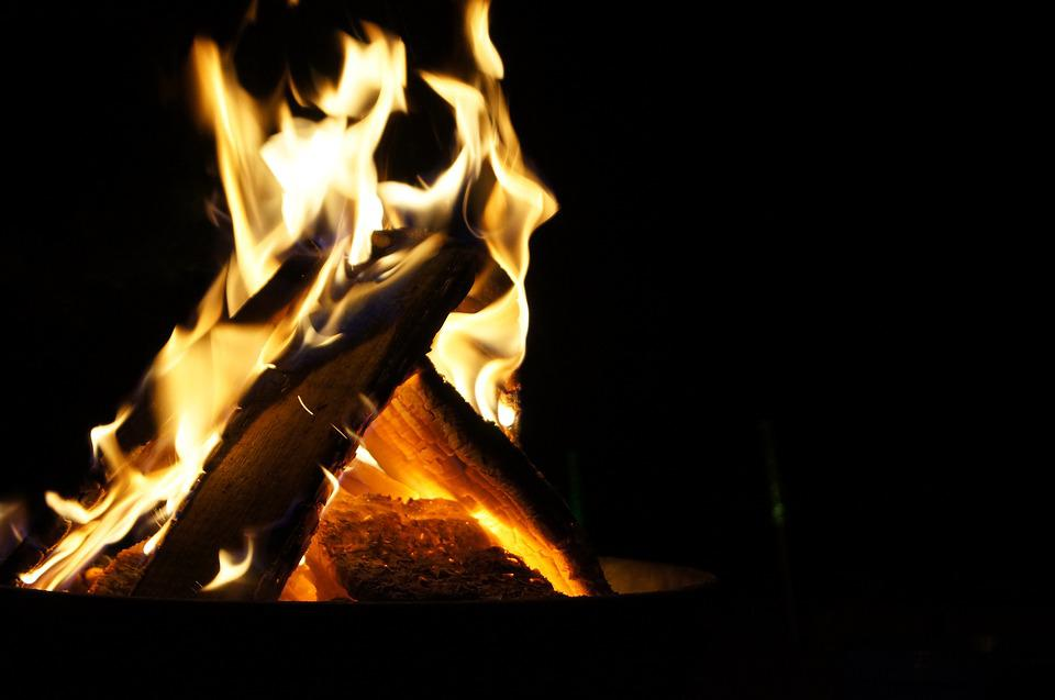 Fire, Fireplace, Burn, Flame, Campfire, Hot, Mood