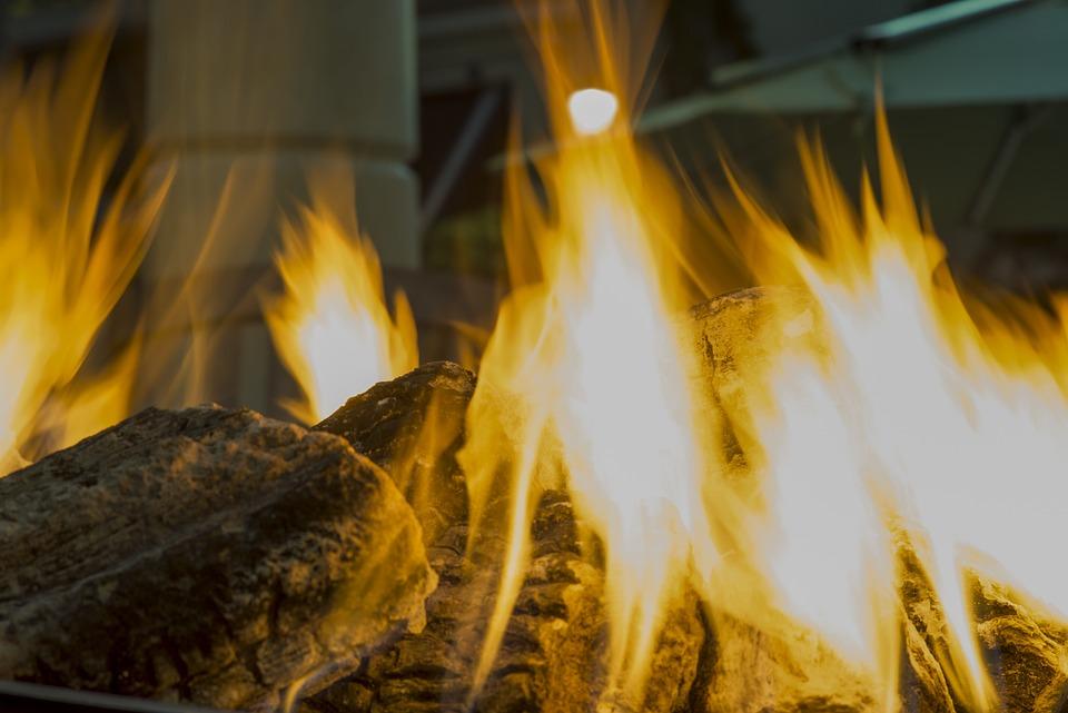 Fireplace, Fire, Flame, Burn, Heat, Hot, Campfire