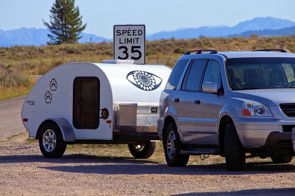 Teardrop Camper, Trailer, Camper, Caravan, Camping