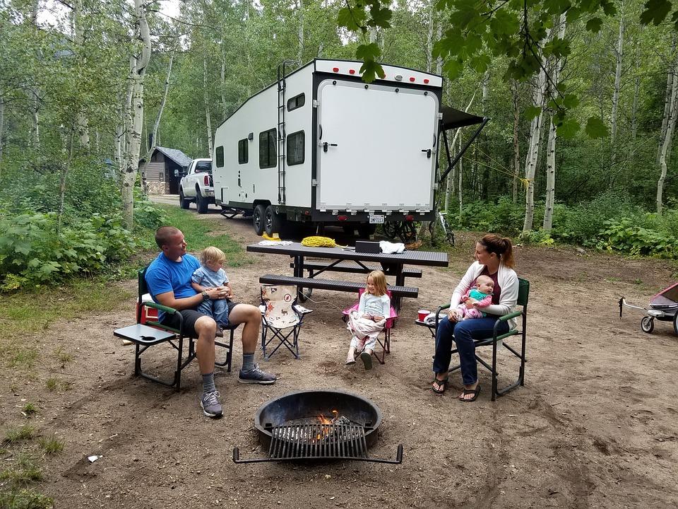 Family Camping Summer Vacation Travel Camp Nature