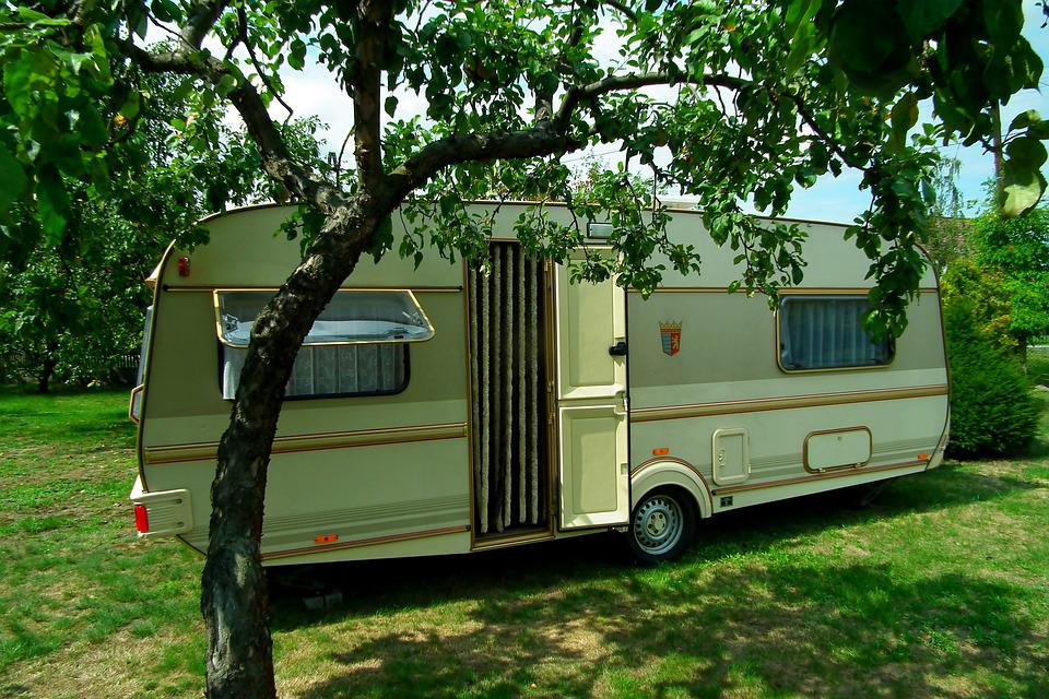 Camping, Trailer, Recreation, Travel, Holiday, Summer