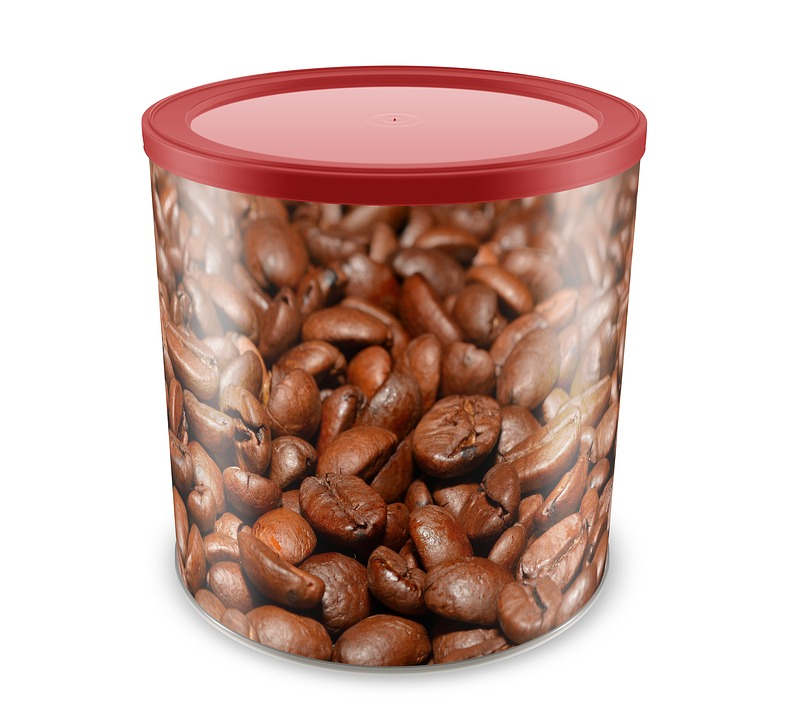 Coffee, Can, Product, Container, Beverage, Coffee Beans