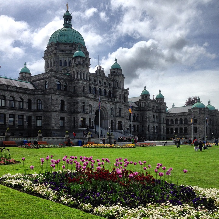 Parliament Victoria, Bc, Canada