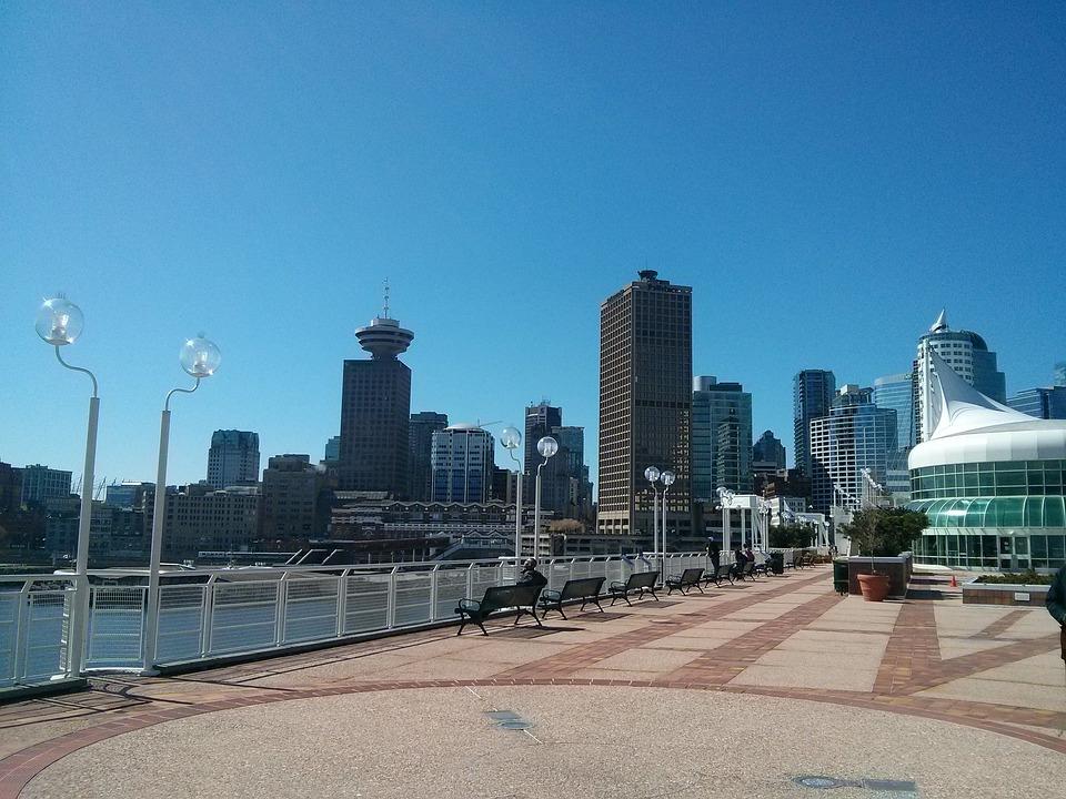 Vancouver, Canada, City, Canada Place, Skyline