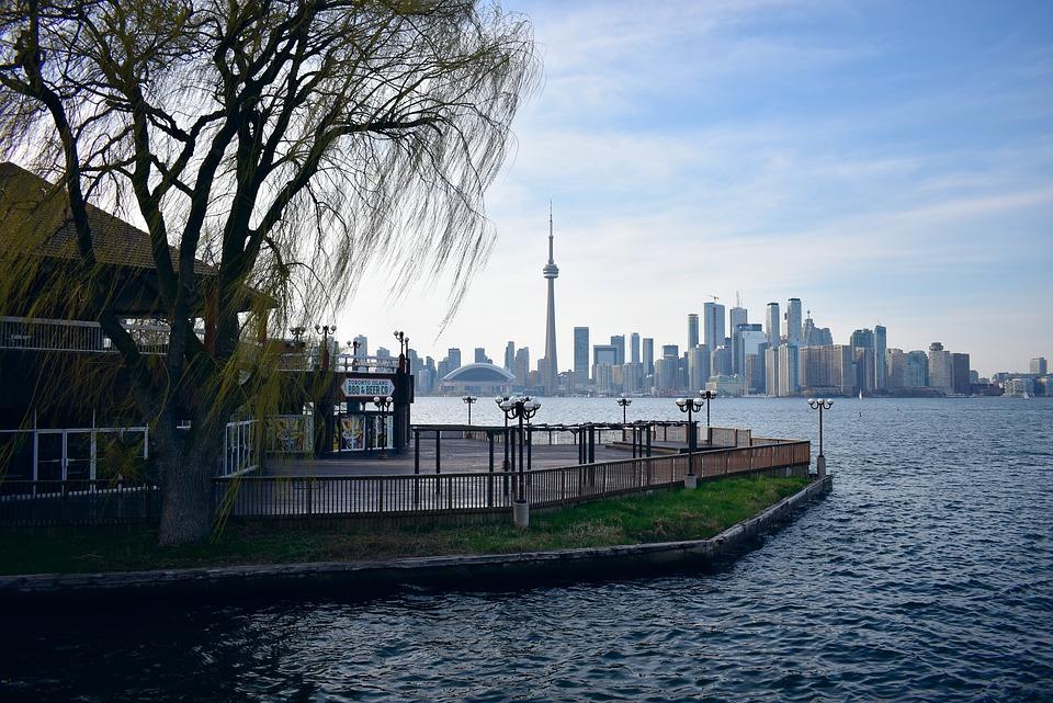 Toronto, Canada, Lake, Nature, Landscape, Island, City