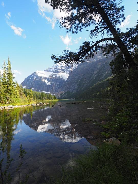 Jasper, Alberta, Canada, Landscape, Mountains, Nature
