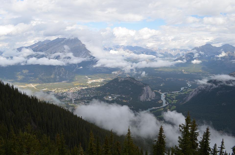 Canadian, Canada, Rockies, Rocky, Mountains, Mountain