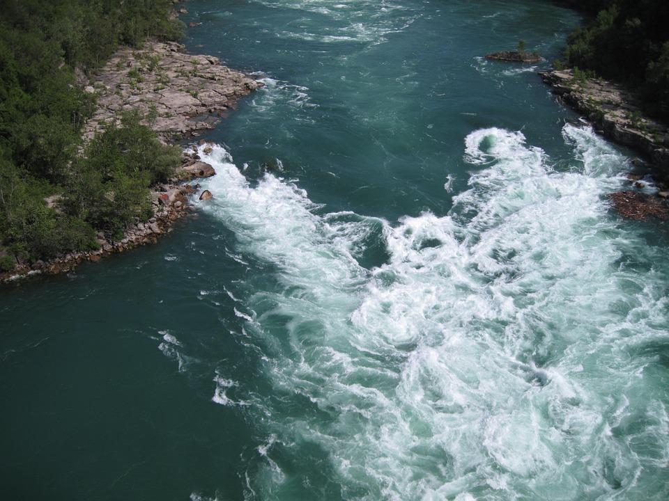 Niagra Falls, Canada, Water, Nature, Rapids, Tourism