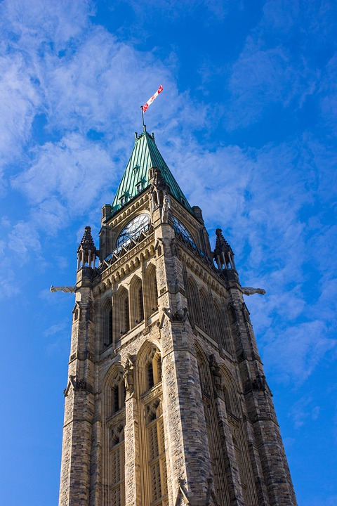Ottawa, Canada, Parliament, Architecture, Ontario