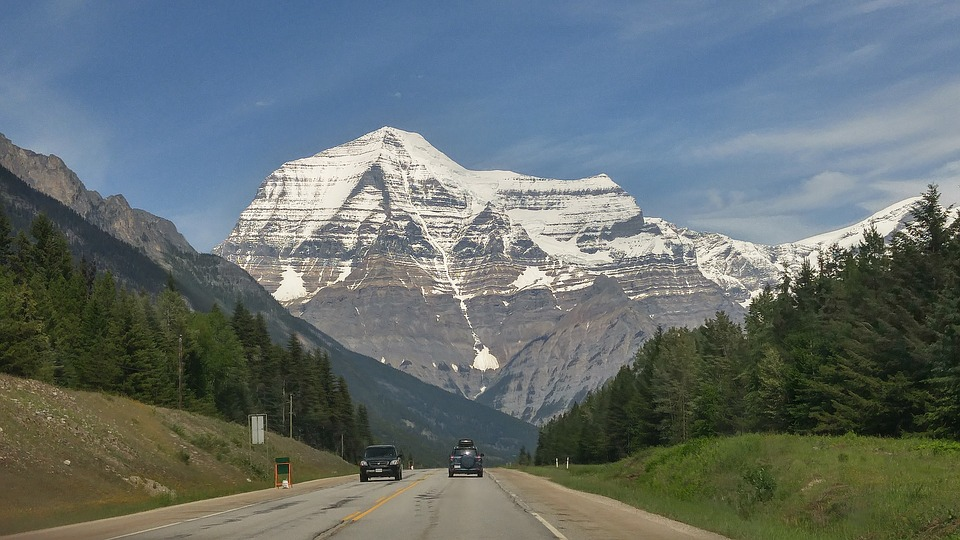 Mt Robson, Robson, Mountain, Rocky Mountains, Canada