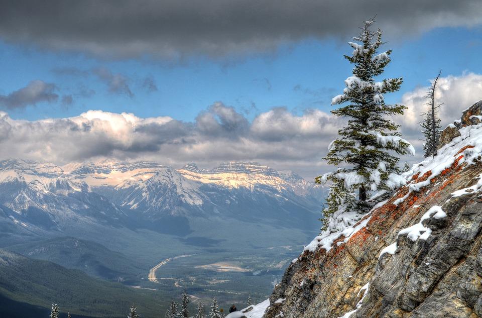 Rocky, Mountains, Nature, Stones, Canada, Landscape