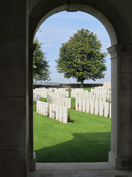 Graves, Canadian, Cemetery, Neuville-st -vaast, France