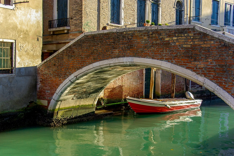 Venice, Boat, Italy, Canal, Barque