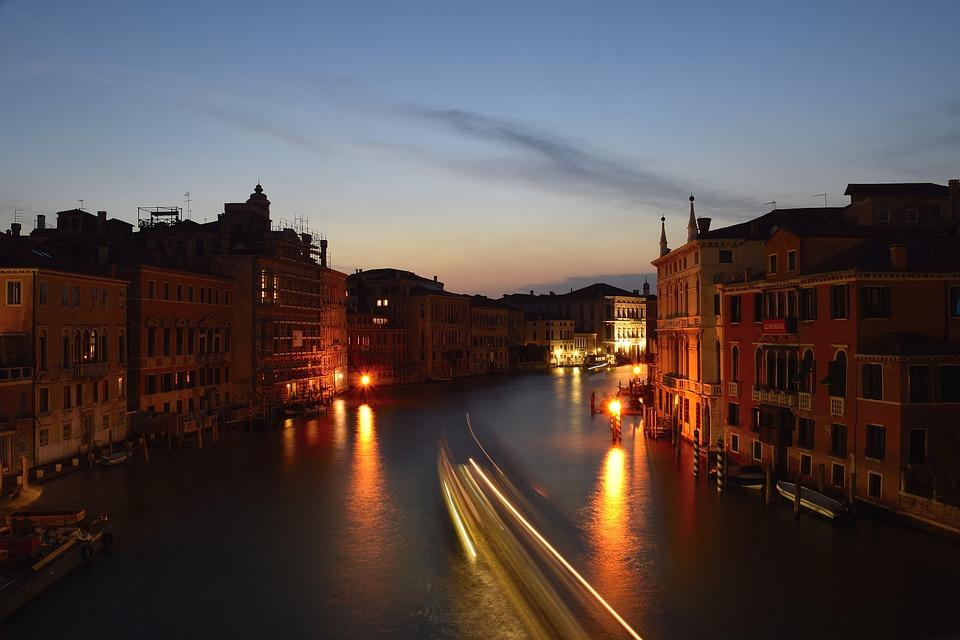 Venice, Venezia, Grand Canal, Canal, Italy