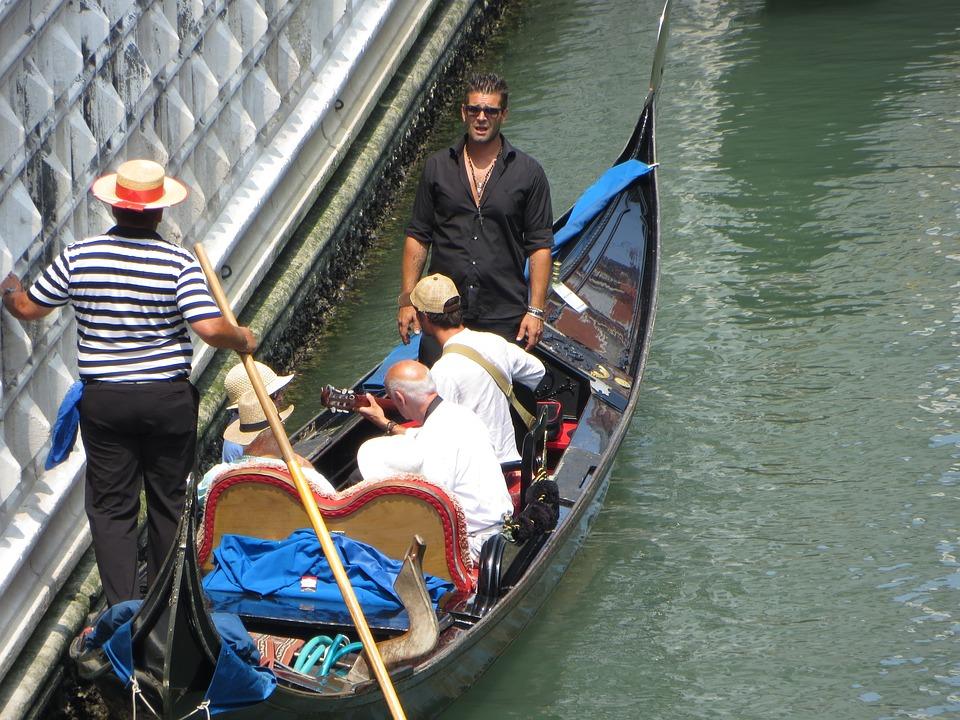 Venice, Gondola, Italy, Canal, Europe, Travel, Water