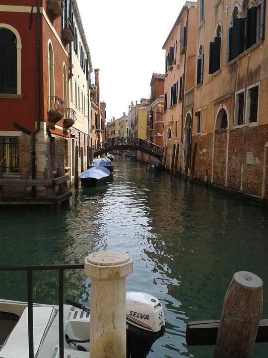 Venice, Canals, Italy