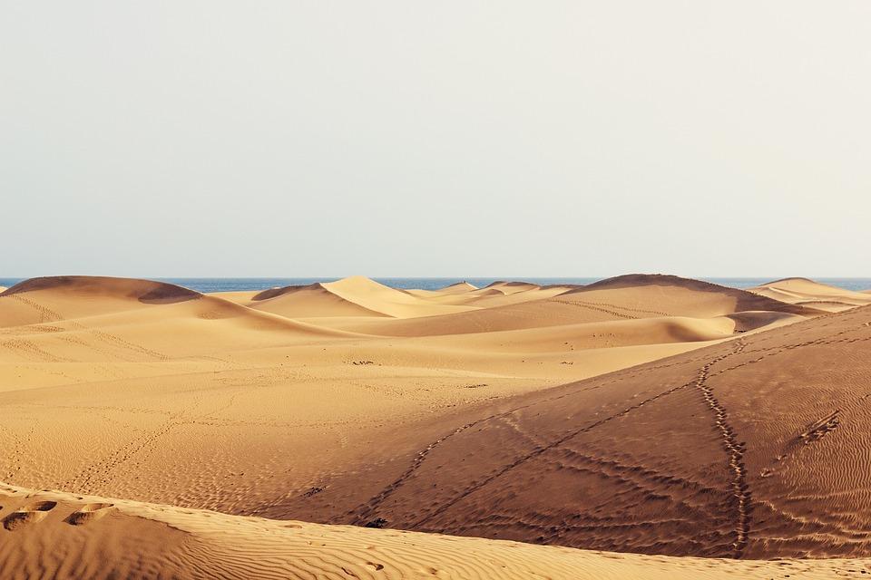 Dunes, Gran Canaria, Sand, Canary Islands, Holiday