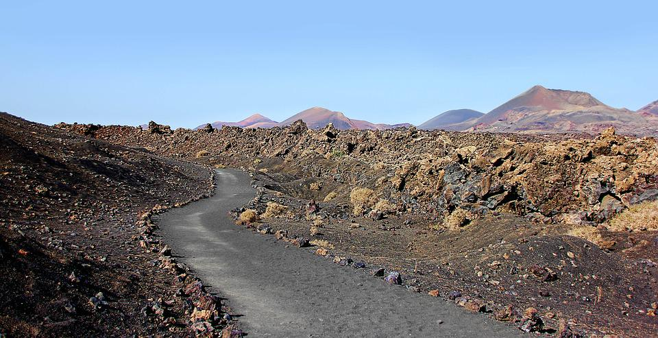Lanzarote, Volcanoes, Volcanic, Canary Islands