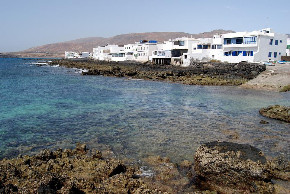 Lanzarote, Canary, Canary Islands, Landscape, Spain