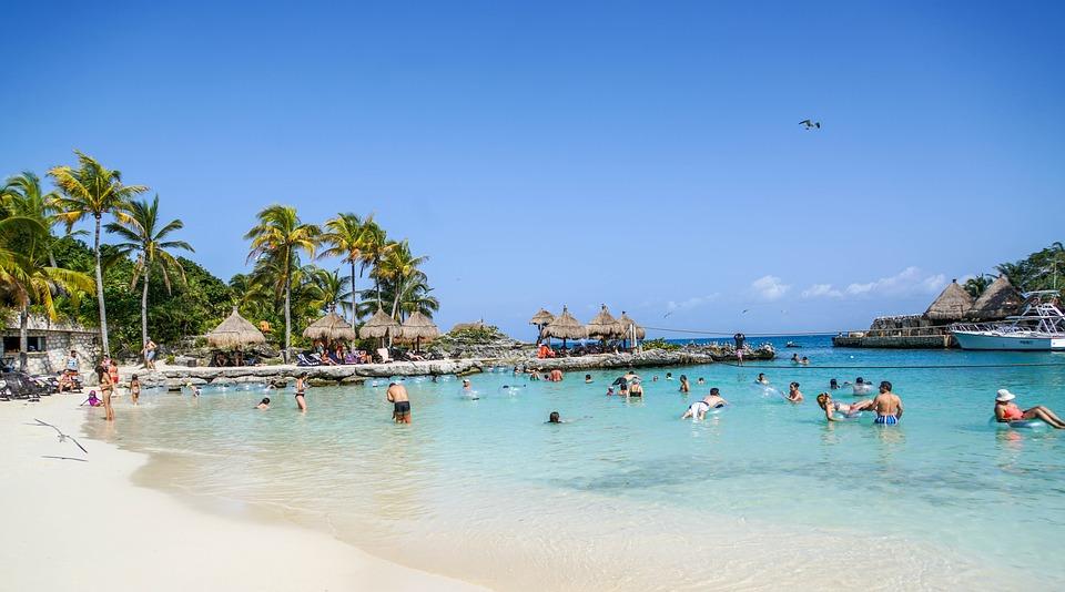 Xcaret, Cancun, Mexico, Lagoon, Tropical, Vacation