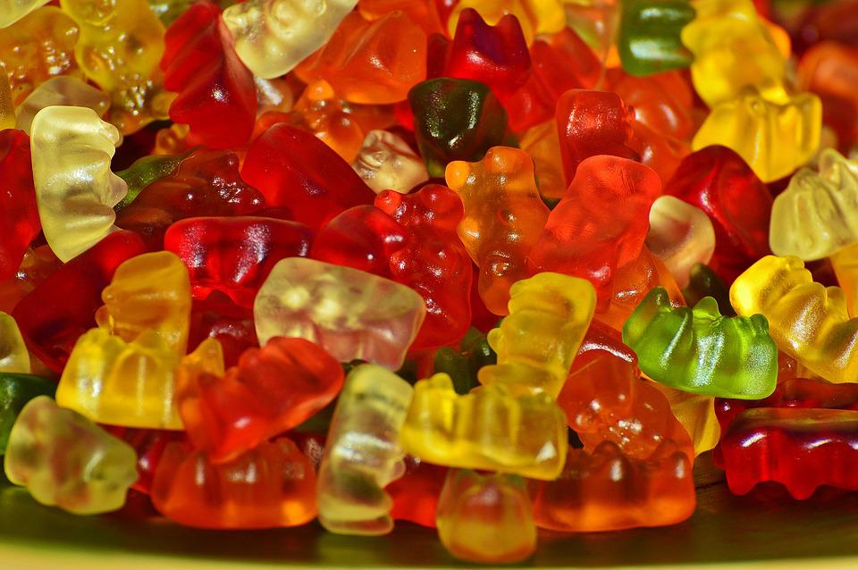 Gummybears, Candies, Sweets, Bears, Confections