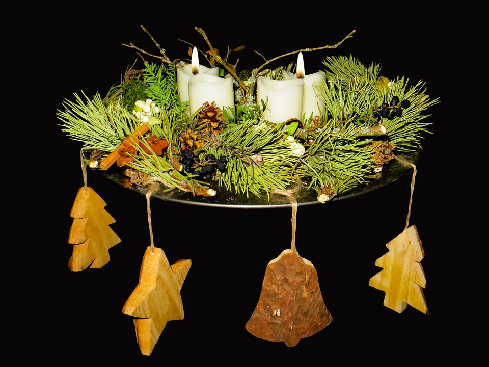Advent, Advent Wreath, Candle, Christmas Time