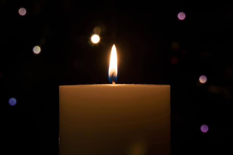 Stars, Background, Ball, Bauble, Burning, Candle