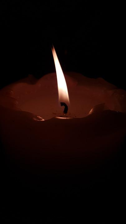 Candle, Wick, Candlelight