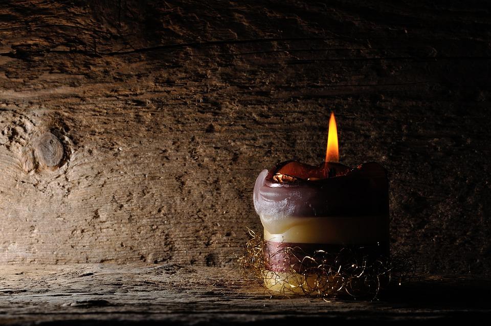 Background, Wood, Candle, Light