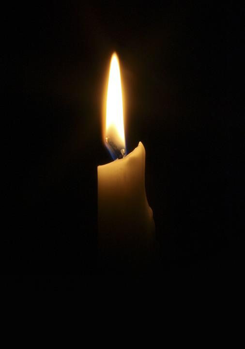 Candle, Dark, Flame, Light, Darkness, Romance, Heat