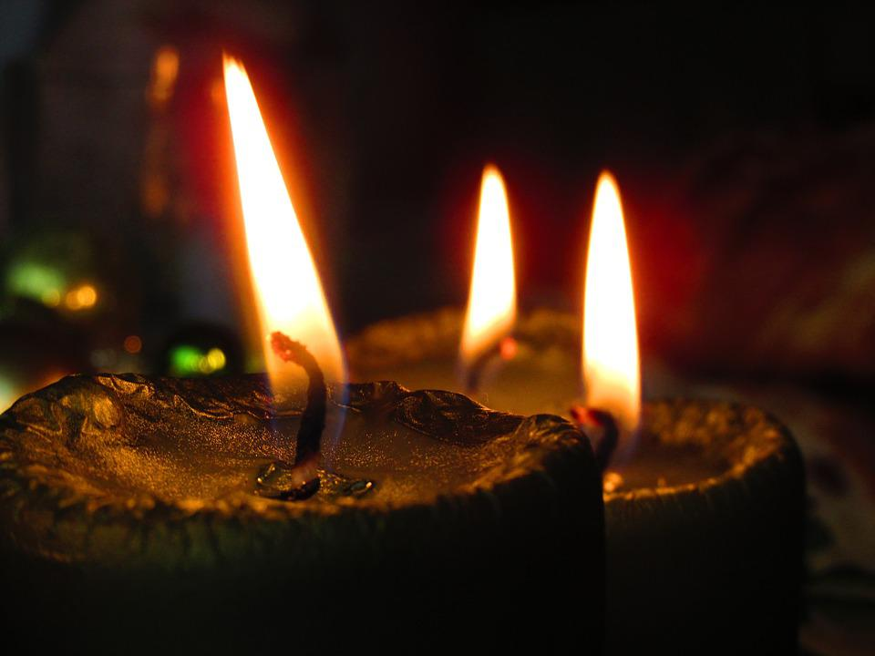 Candle, Light, Colors, Flame, Burning Candle, Christmas