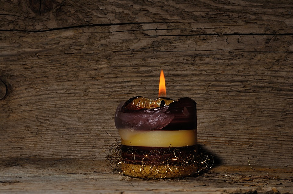 Candle, Wood, Light