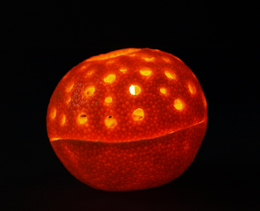 Mandarin, Candle, Clementines, Fruit, Orange