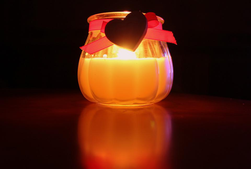 Candle, The Flame, Mood, Evening, Light, Decoration