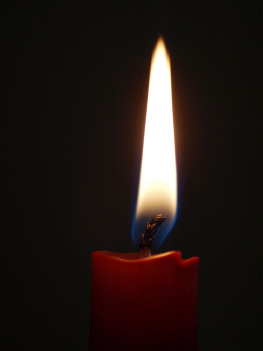 Candle, Wick, Red, Cozy, Quiet, Flame, Light, Burn