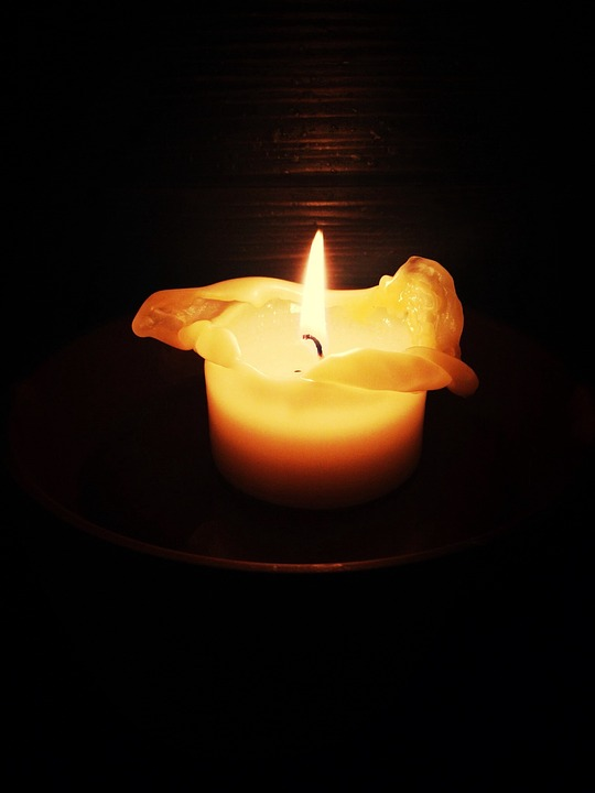 Candle, Romantic, Candlelight