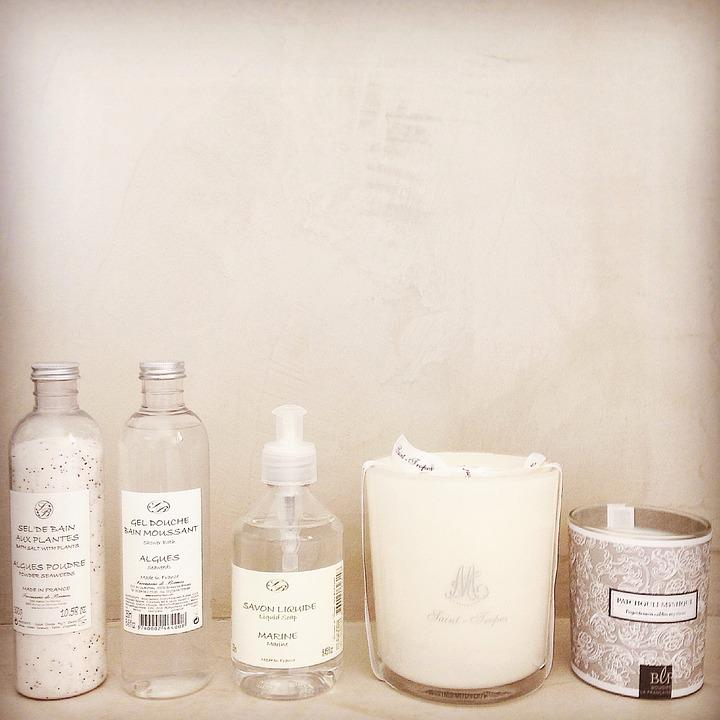 Soap, Bathroom, Products, Candles, Candle, Beige