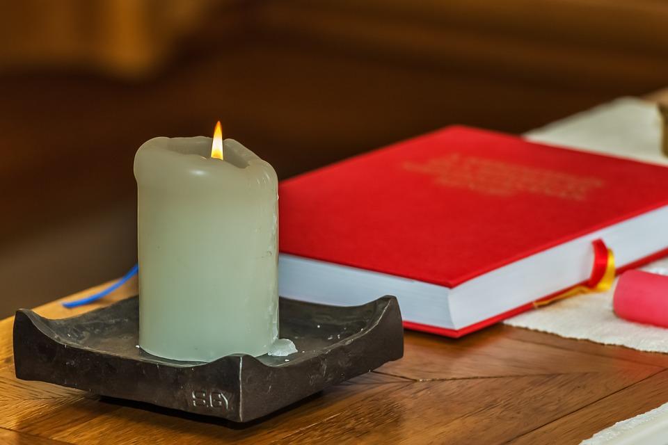 Candle, Light, Flame, Fire, Mood, Wax, Book