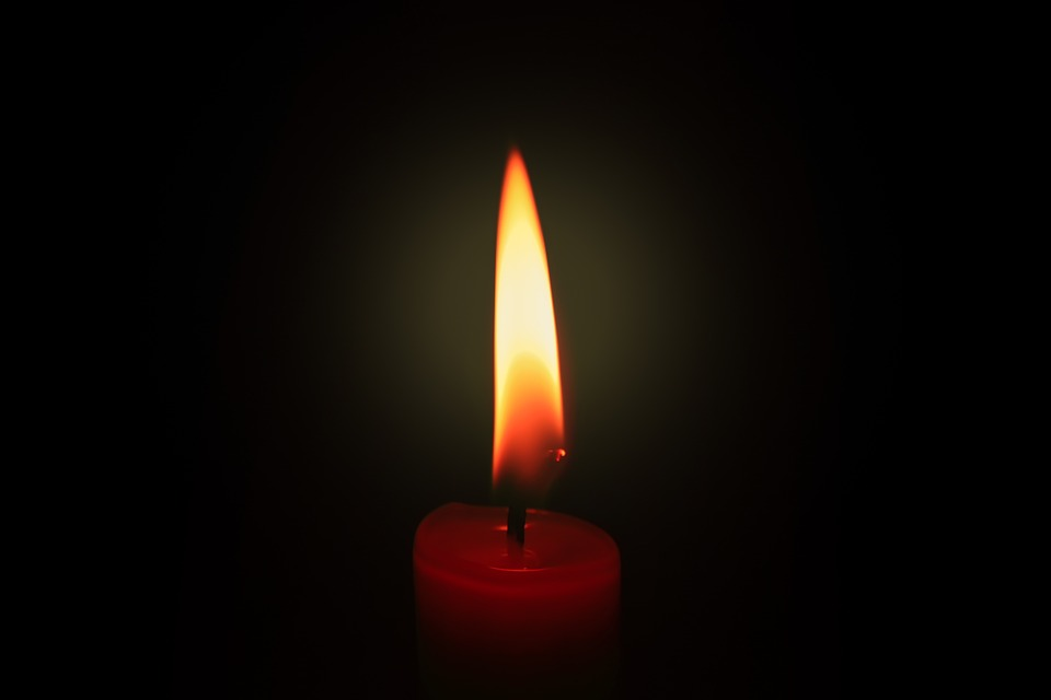 Brand, Candle, Flare-up, Candlelight, Wax, Red, Heat