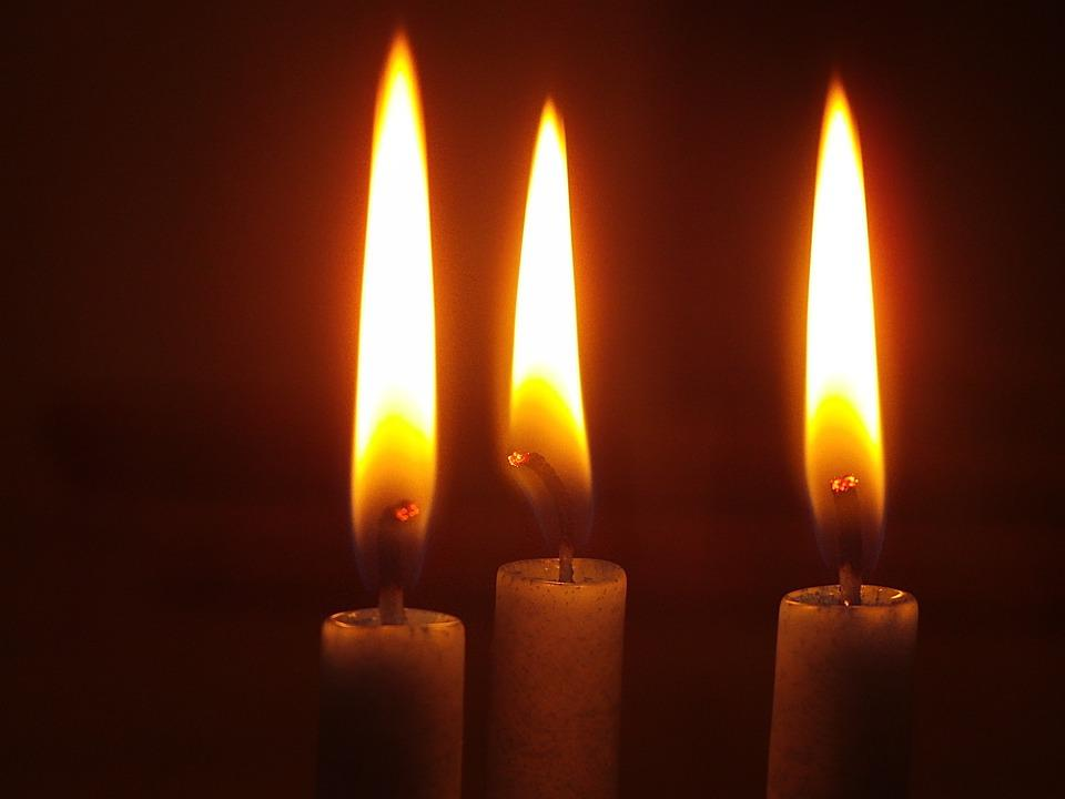 Candle, Advent, Candlelight, Atmosphere