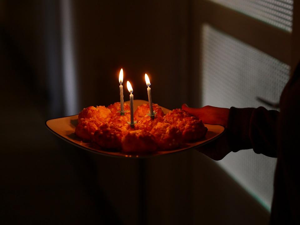 Free Photo Candlelight Birthday Candle Celebration Cake Happy Max