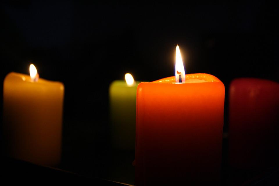 Candles, Fire, Romantic, Candle, Flame, Candlelight