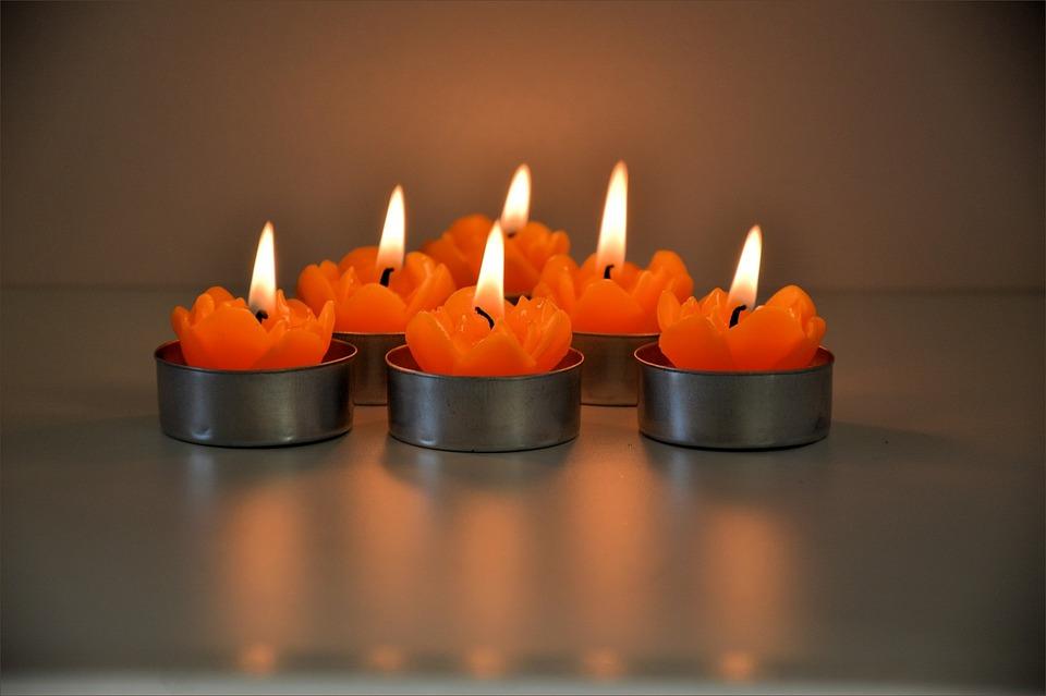 Candles, Burning, Flame, Celebration, Candlelight